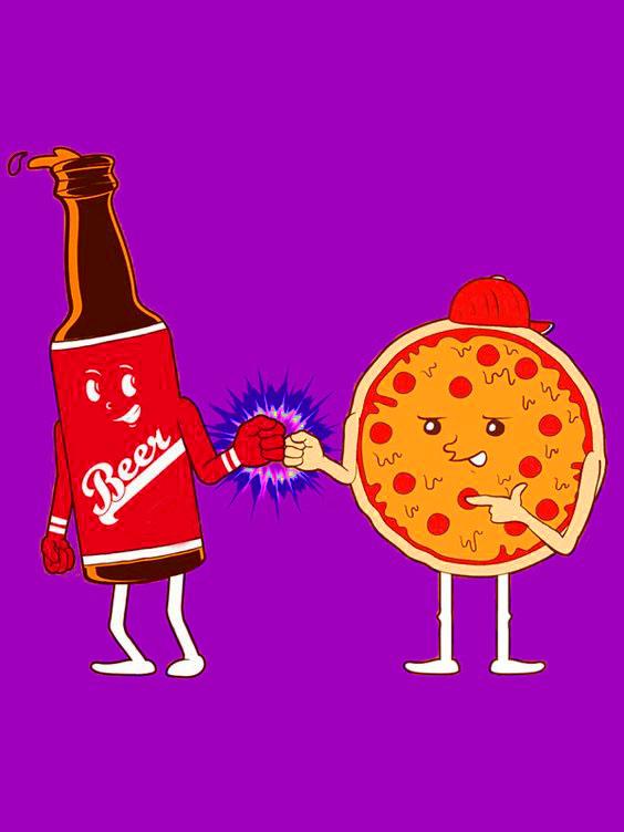 Beer, Pizza and Creative Genius1